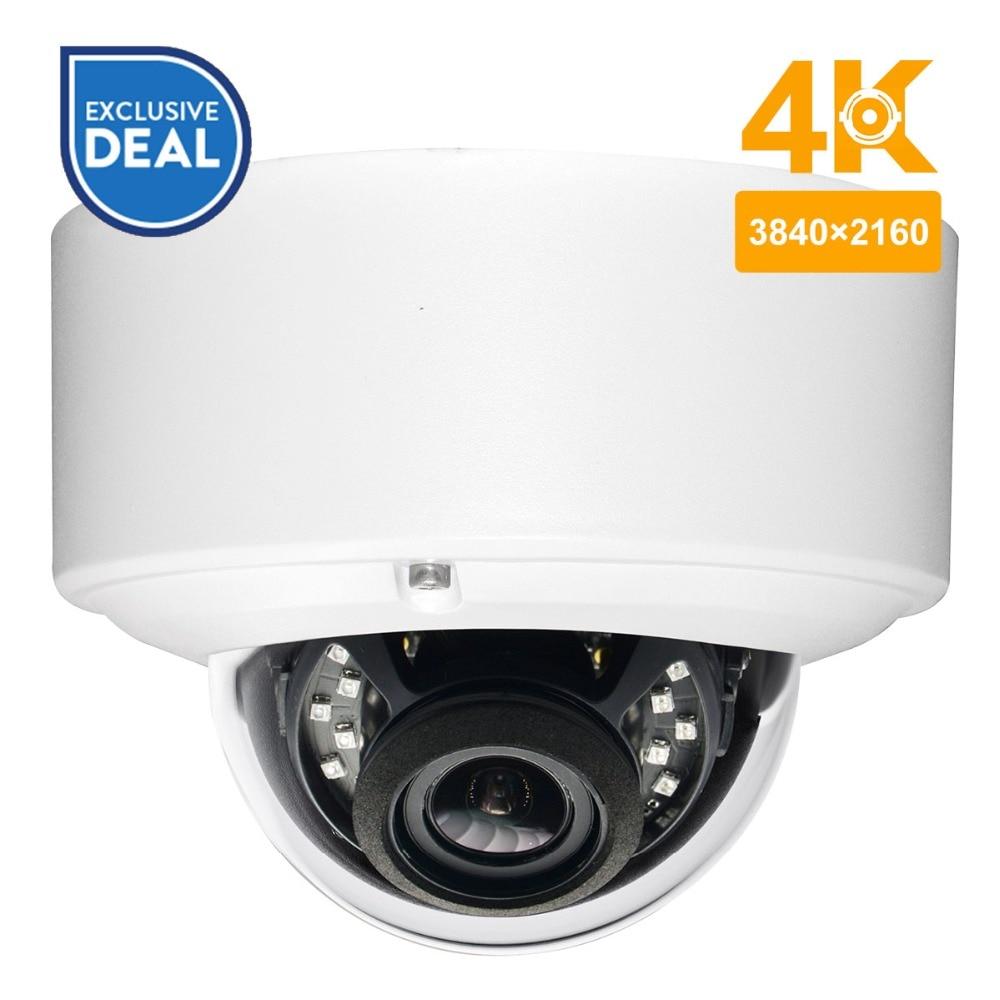 Anpviz 8MP Network Mini Dome PoE Security IP Camera H 265 High Resolution CCTV Camera Replace