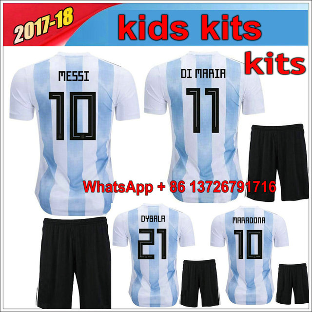 huge discount be755 05f28 kids messi jersey