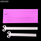 ABOOM 2PC/Lot Metal Steel Cutting Dies Stencil Scissors Zipper Decorative DIY Scrapbooking Greeting Card Embossing Die Template