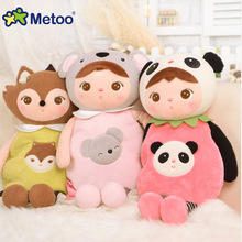 Cartoon childrens backpack koala panda sleep rabbit plush toy child birthday christmas gift