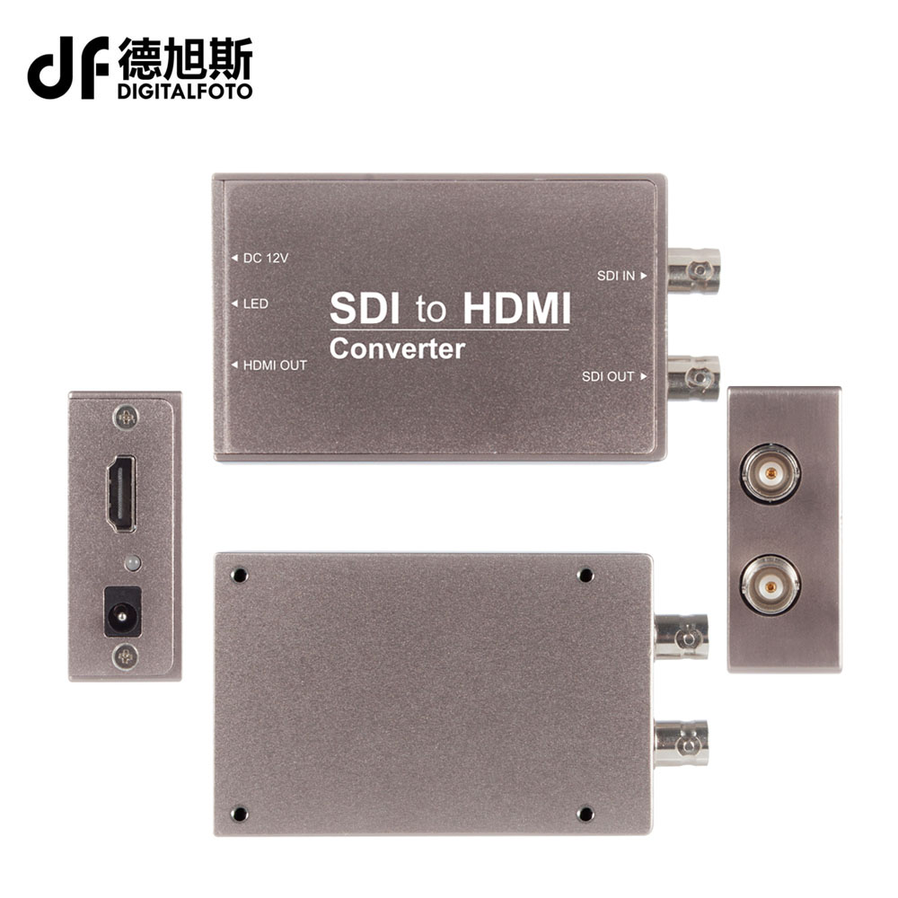 Seetec SDI To HDMI converter Mini Broadcast Converters Professional 3G-SDI Connections SDI to HDMI Converter STH wiistar free shipping vga to 3g sdi converter broadcast general display sdi professional monitor