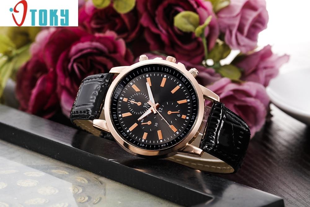 Cheap luxury Fashion Vogue Geneva Leather Analog Dial Quartz Sport Wrist Watches Dropshipping fabulous 2016 quicksand pattern leather band analog quartz vogue wrist watches 11 23