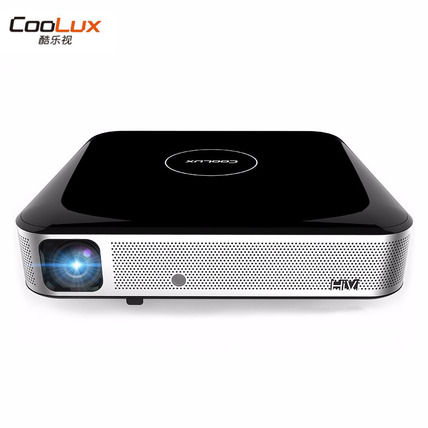 Coolux S3 Mini Projector Full HD Projetor Led Projector Proyector Led 1200 ANSI Lumens 3D WIFI Bulethooth HiFi Speaker Beamer mini led projector bl 18 proyector portable pico projektor 500lumen full hd projectors av vga sd usb hdmi video beamer projetor