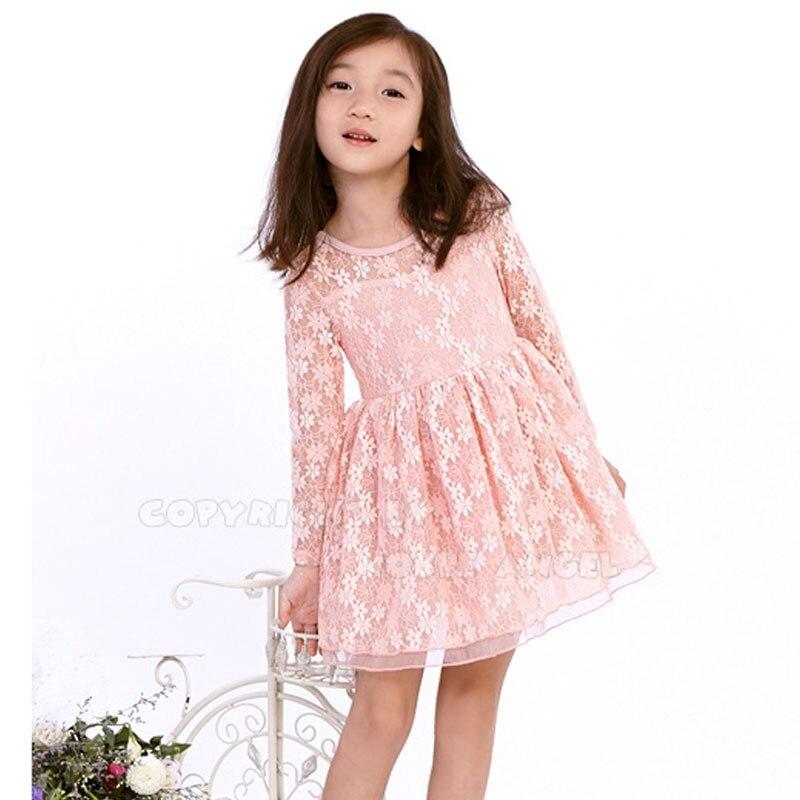 Kanten jurk 140