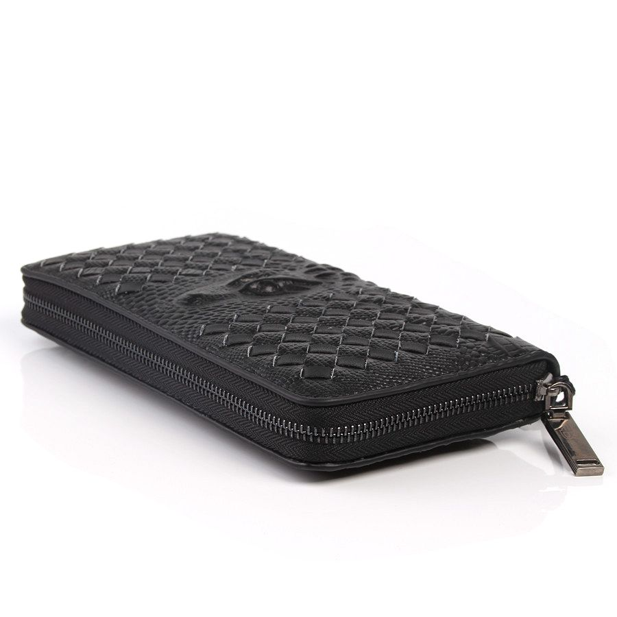 dos homens zipper coin purse Altura do Item : 13.5cm