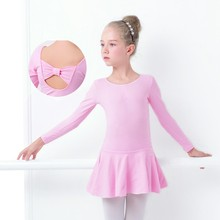 Girls Lycra Leotards Ballerina Skirts Gymnastics Skating Skirted Leotard Kids Dance Dress Ballet Bodysuit Costume