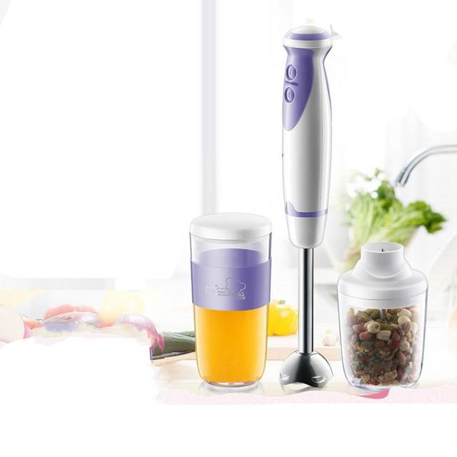 Juicers O processador de alimentos é equipado com uma máquina de liquidificador que prende o bebê. NOVO