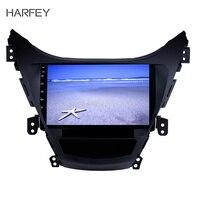 Harfey Steering Wheel Control Car Radio Android 8.1 For 2011 2012 2013 Hyundai Elantra With Music USB AUX 9 Inch GPS Navi Stereo