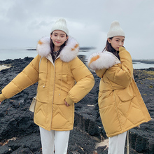 Women Winter Jackets Coats 2020 New Down cotton Hooded Parkas Feminina Warm Outwear Faux Fur Collar Plus Size 3XL Long Coats все цены