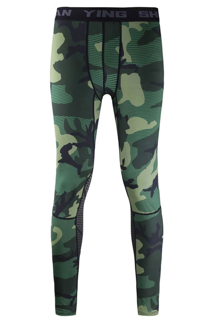 Camouflage Running Sets Men Sport Suit  5