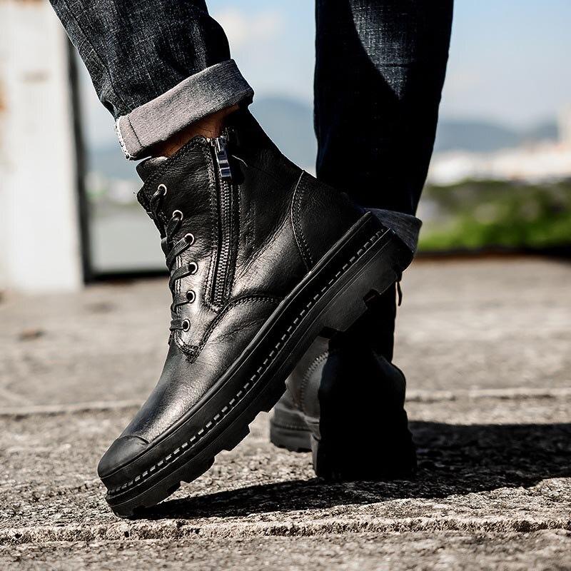 Cuir Masorini Cotton Chaussures Vache 38 Main Bottes 47