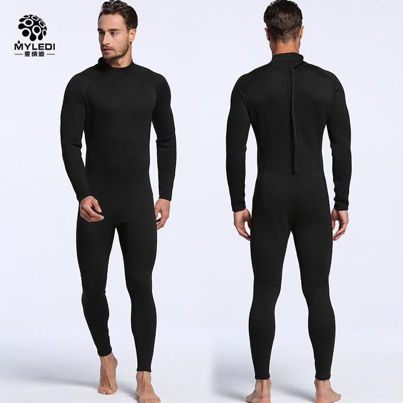 Muškarci i žene od 2 mm, pune crne pantalone sa dugim rukavima, - Sportska odjeća i pribor - Foto 3