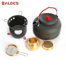 Alocs CW-K04-PRO Outdoor Water Kettle Travel Camping Picnic Cookware Ultralight Aluminum 1.4L Water Pot Teapot Coffee Pot