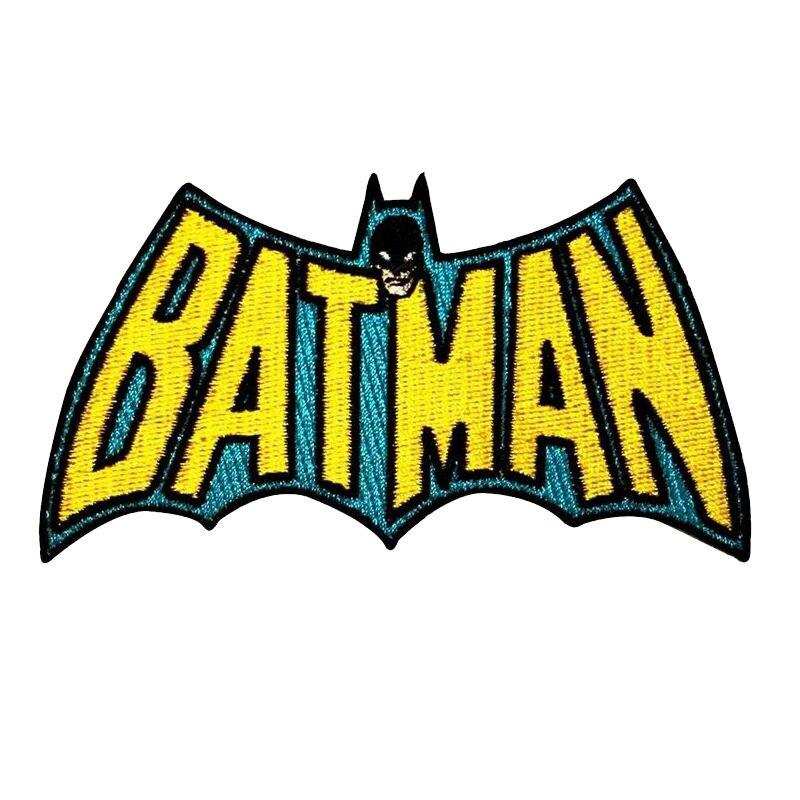 Acheter BATMAN chauve souris logo rétro classique Brodé Fer