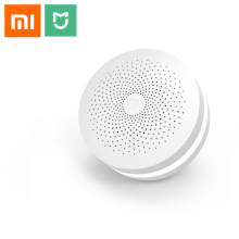Xiaomi multifunctional Gateway 2 Smart Control Center Smart Home Kit Upgrade Version Two Control Built In Radio Doorbell Ring цена и фото