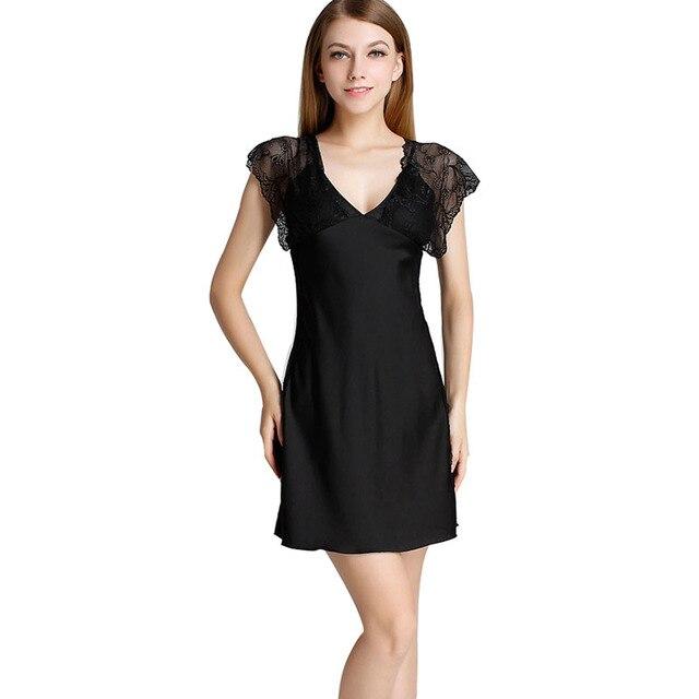 Mulheres de Lingerie Sexy Tempatation V Profundo Lace Stain Robe Nightdress Nightgowns Cinta Sleepwear Saia Bandage Vestido Pijamas Femme