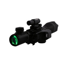 Best Buy 4-12X50EG Five-Line Ship Red-Green Light Ten Lines Sniper Optical Hunting Sight JG-8 Red Laser Pointer One Sight