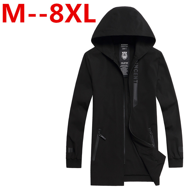 9XL 8XL 7XL 6XL 5XL 2018 New Fashion Brand font b Jacket b font Men Clothes