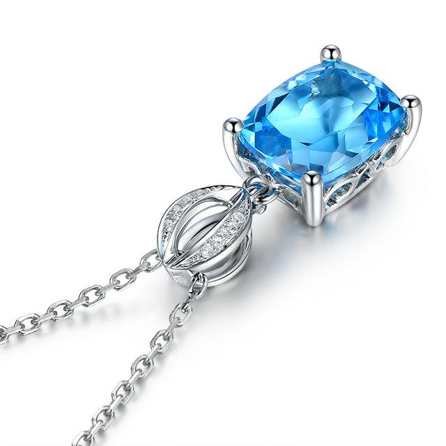 Zircon Pendant Necklace for Women