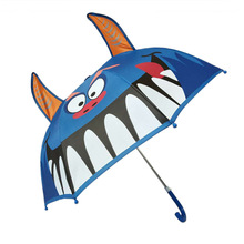 Childrens umbrella cute cartoon three-dimensional animal creative baby primary school childrens 050