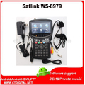 Satlink ws-6979 dvb-s2 dhl original & dvb-t2 mpeg4 hd combo + espectro localizador de medidor de satélite ws-6950 hd sentou localizador ws6979 metro