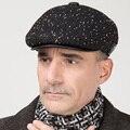 Мужская новый год шерсть шляпа мужской Клаус hat фуражке осенью и зимой теплый уха крышка B-0657