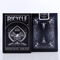 צל צל מאסטרס מקורי אופניים לשחק טריק כרטיס קסם אבזרי קסם פוקר סיפון שחור על ידי Ellusionist Creative 81215