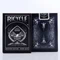 Shadow Masters Original Bicycle Shadow Playing Card magic trick Black Deck By Ellusionist Creative Poker Magic Props 81215