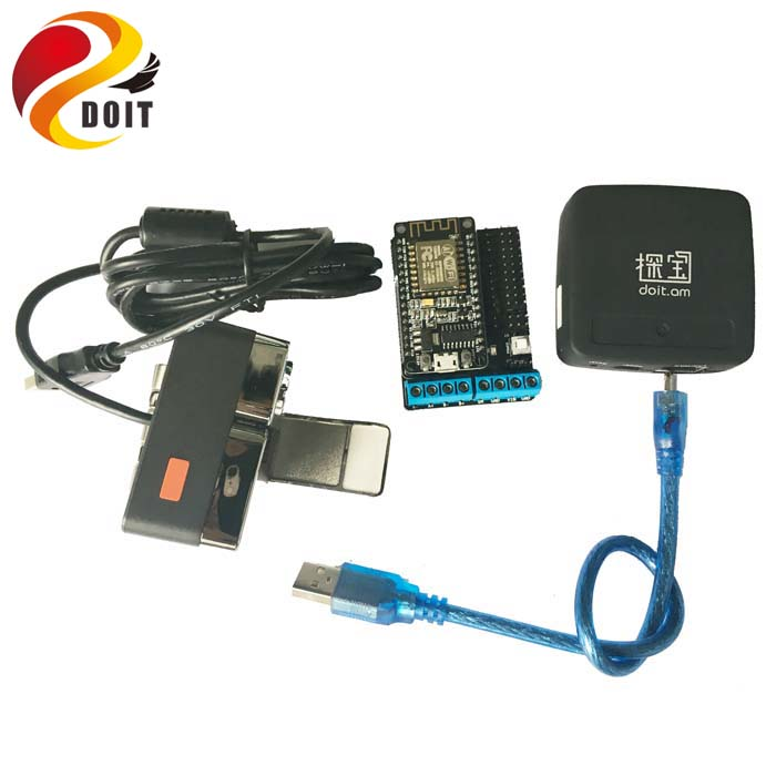 Original Video Controller Kit for Robot Arm Tank/car Chassis Remote Control Kit by ESP8266 NodeMCU with Openwrt Router Camera assembled cdrom controller kit with display remote control 0508 4