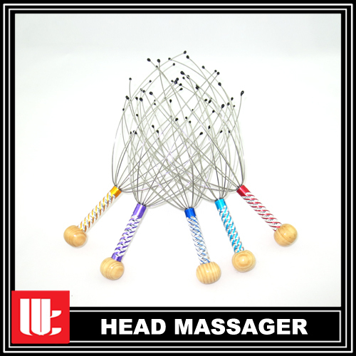 200pcs/lot Head Massager Head Spider Tingler Hot Sale to US CA FREE SHIPPING