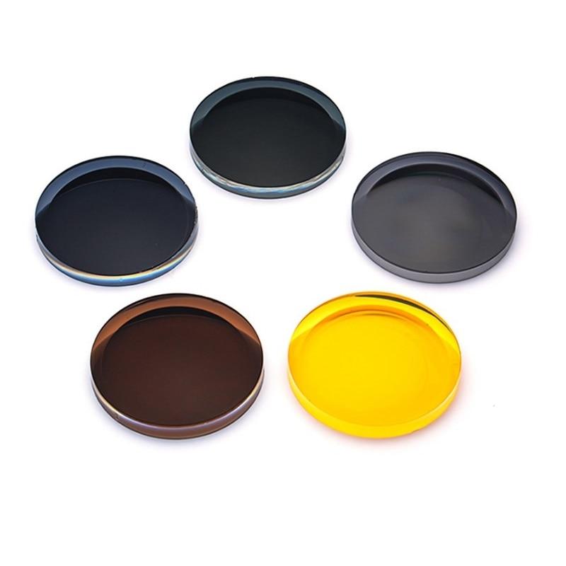1,50 1,61 1,67 UV zaščita polarizirana kratkovidnost leče za sončna očala za nočno branje steklene leče za oči