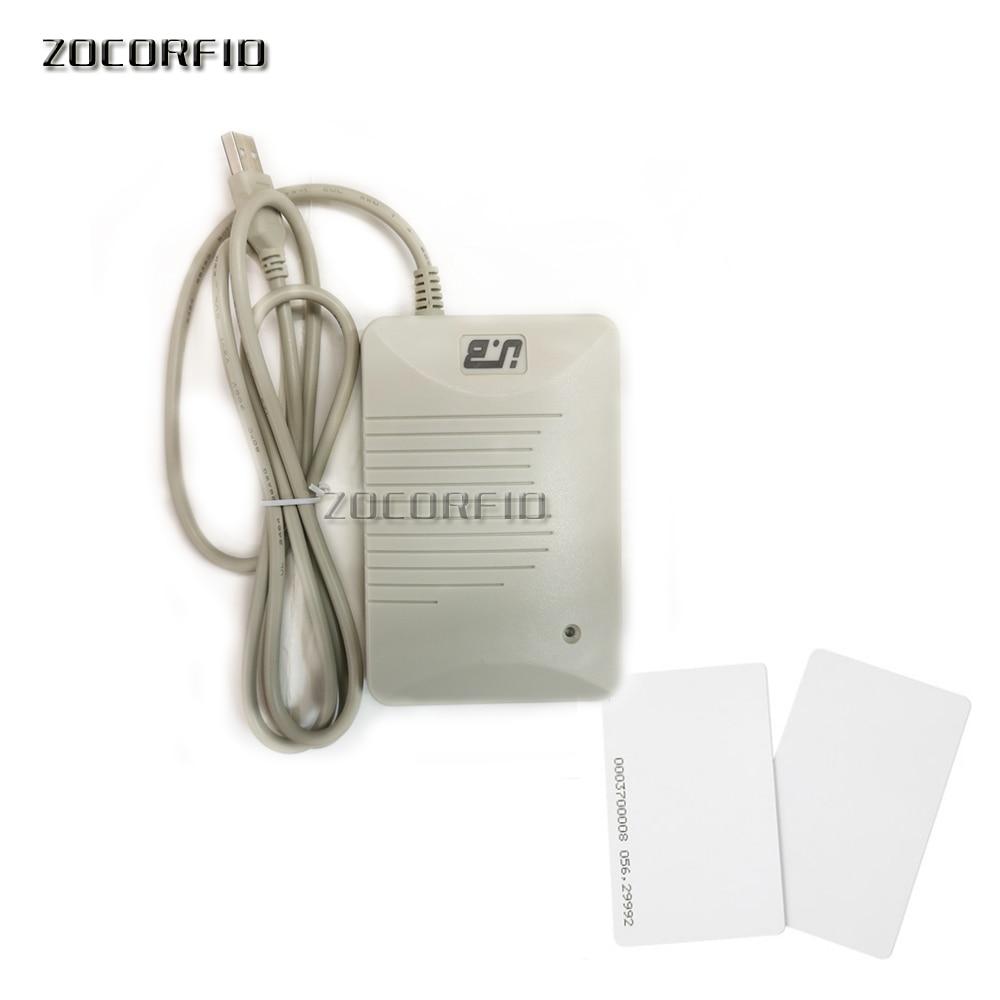 DIY Format  DIP Switch  YLE406 125KHZ RFID  Reader/membership Card Slot, Decimal, Hexadecimal, USB Port +10pcs