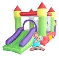 Yard pit bola inflável da casa do salto castelo deslize combo crianças juming oferta especial para a ásia