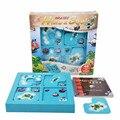 SUKIToy Softplaykinder Montessori Frühen Vorsprung Ausbildung Spielzeug Verstecken & Suchen IQ Desktop spiele Mit Lösung buch SC002-in Sperren aus Spielzeug und Hobbys bei