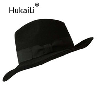 Michael Jackson Cap Wool Baize Fedora Hat Perfect Version Of The Black Felt Hat Space Dance