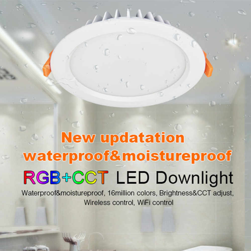 Pure White Flameproof Pbt Plastic Housing Dampproof Design Ideal Recessed Lighting For Color Ceiling Of Living Room Kitchen Or Bathroom