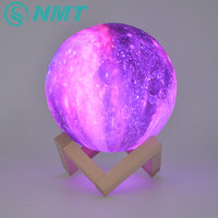 Dropship 15CM Moon Lamp 3D Print Star Galaxy Light Colorful Change Touch USB Charging Led Home Decoration Baby Night Lights Gift