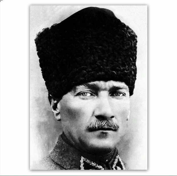5d Diy Elmas Boyama Mustafa Kemal Ataturk 3d Elmas Nakis Capraz