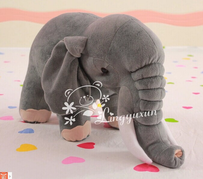 simulation animal plush toy large 70cm elephant doll throw pillow , Christmas gift w0645 super cute plush toy dog doll as a christmas gift for children s home decoration 20