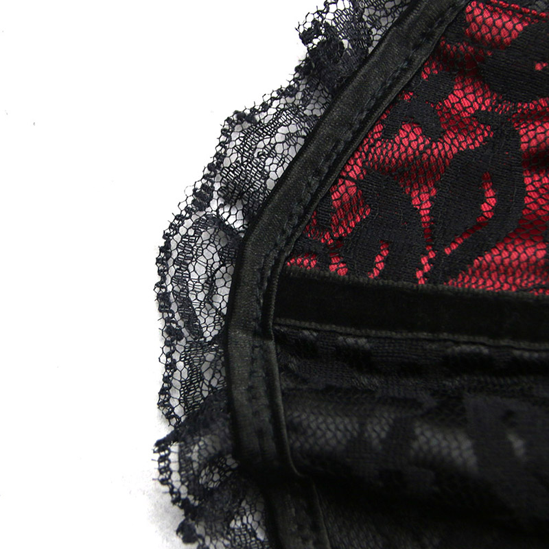 a8207fc6951 Sisjuly women corset underbust sexy vintage bustiers red lace up lace  gothic cincher push retro lingerie ladies corsets bustiers-in Bustiers    Corsets from ...
