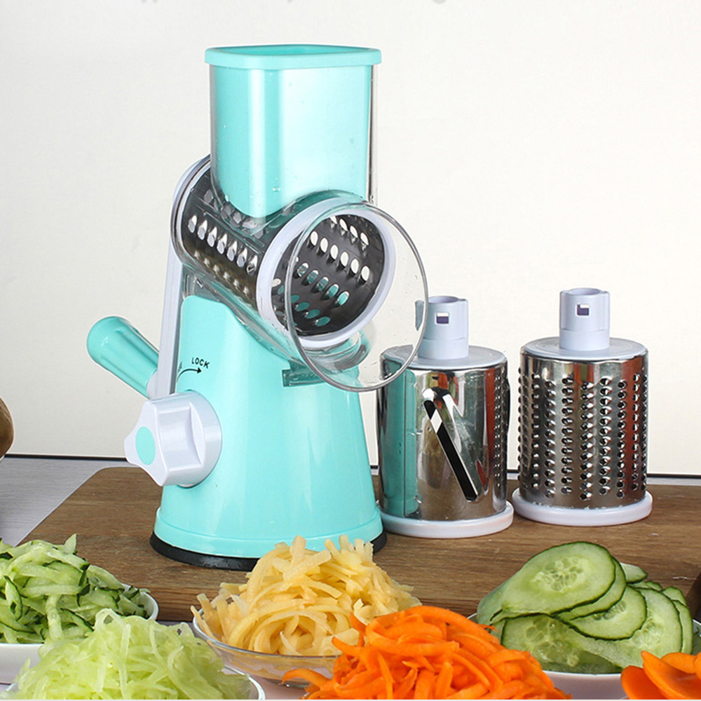 Multifunctional Hand-operated Vegetable Potato Julienne Carrot Shredder Slicer Kitchen Roller Vegetable Cutter Food Processor