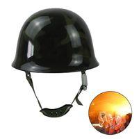Feuer Kampf Helm Feuer Hut Sicherheit Schutz Cap Stahl Helm-in Schutzhelm aus Sicherheit und Schutz bei