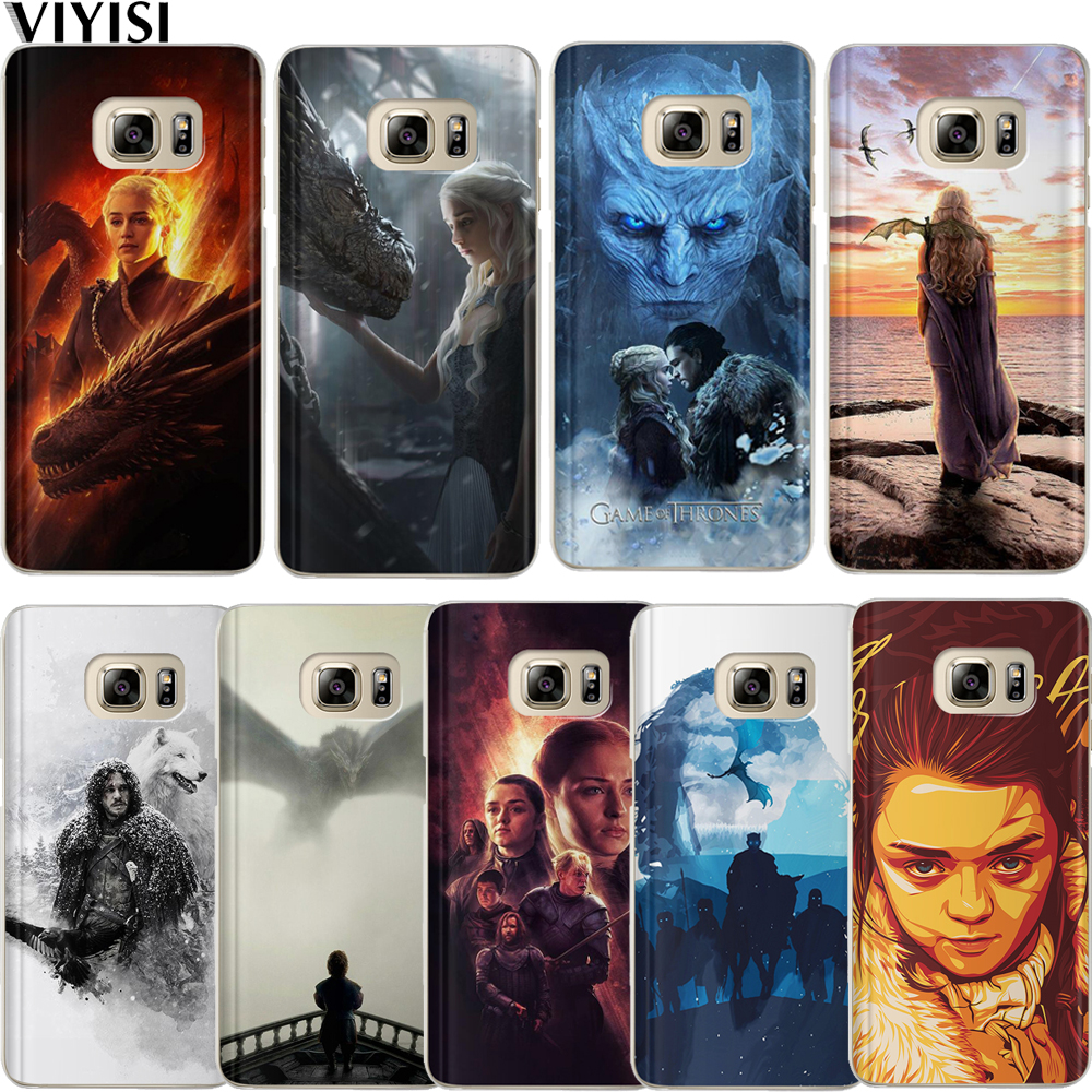 Game Thrones Case For Samsung Galaxy J3 J4 J5 J6 J7 J8 Plus 2017 2018 Silicone Etui Coque Daenerys Dragon Jon Snow Tyrion Shell image