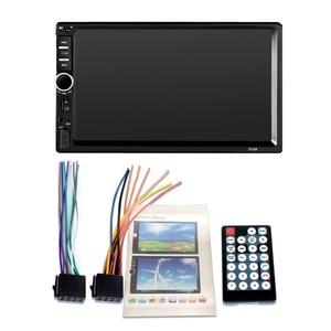 """Image 5 - Автомагнитола 2 din 7018B, стерео система с 7 """"HD радио, Bluetooth, FM радио, mp5 плеером, с поддержкой камеры заднего вида"""