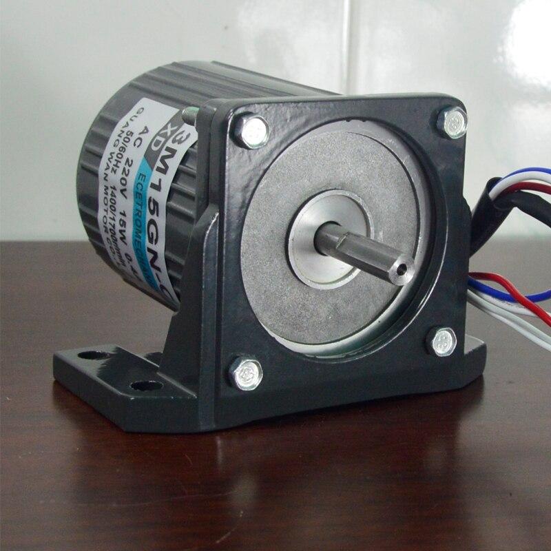 220V AC Permanent Magnet Synchronous Motor, 68KTYZ Low Speed Motor, 28W Positive Reverse Micro AC Motor 50RPM Take Bracket