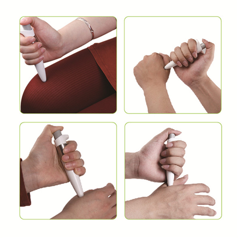 Portable Size Handhled Electronic Pulse Analgesia Pen Body Pain Relief Acupuncture Point Pen Parent Hot Body Treatment