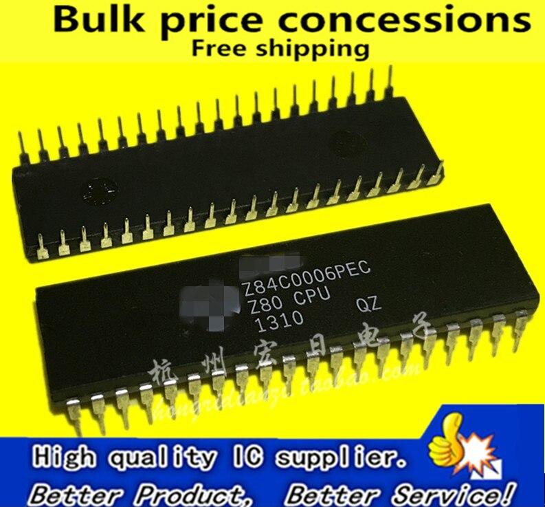1pcs MC6808P MC6808 8-bit CPU with clock DIP-40
