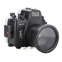 Meikon Водонепроницаемый подводный Камера Корпус Дайвинг оборудование 60 м/195ft для Nikon D800