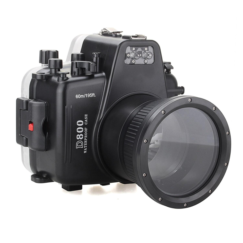 Meikon Waterproof Underwater Camera Housing Case Diving Equipment 60m/195ft for Nikon D800 mastering the nikon d800