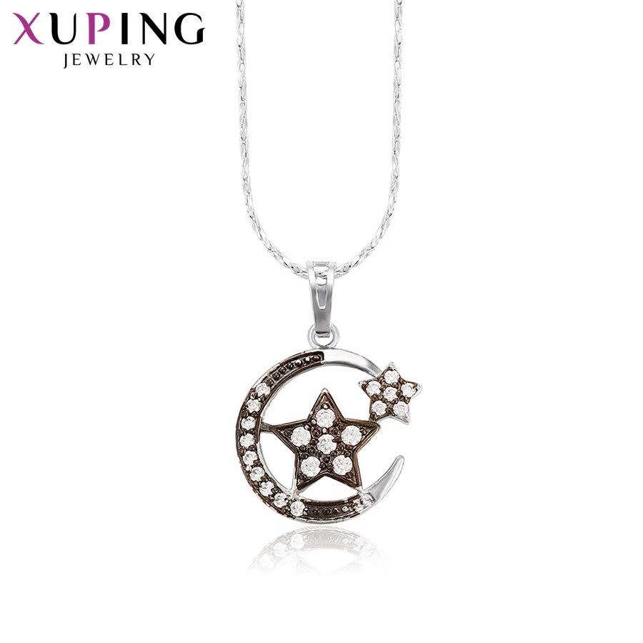 11,11 сделок Xuping Мода Звезды Форма Кулон Родий Цвет покрытием украшения для Для женщин подарок на день матери M37-30117